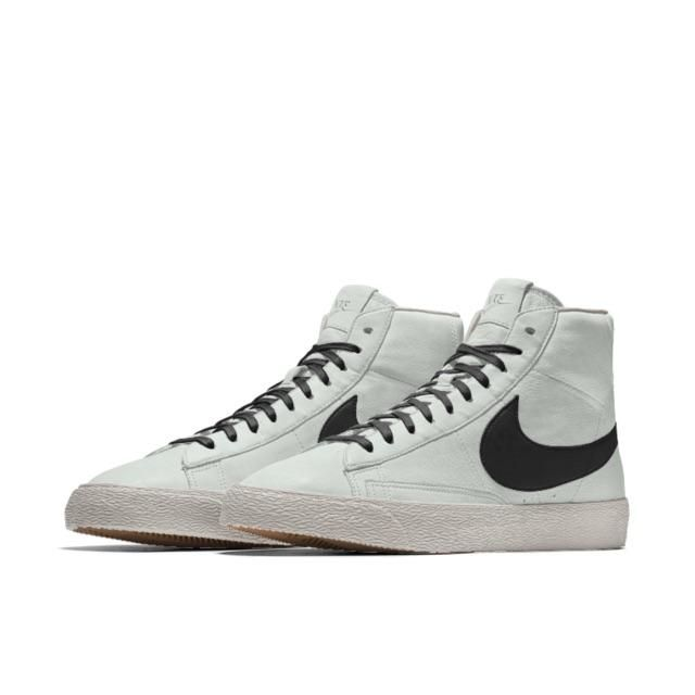 agenda Cerdo menta  W2C] Nike Blazer Mid with white base and black swoosh like these. NikeiD  says they are not in stock in Canada. Any suggestio… (With images) | Nike id,  Nike blazer, Sneakers nike