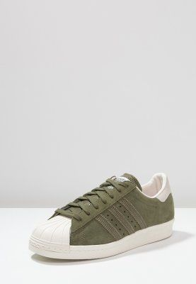 adidas Originals SUPERSTAR 80S - Baskets basses - olive cargo/offwhite -  ZALANDO.FR