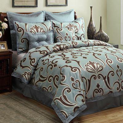 Largo 8 Pc Comforter Set Kohl S Comforter Sets Queen Size
