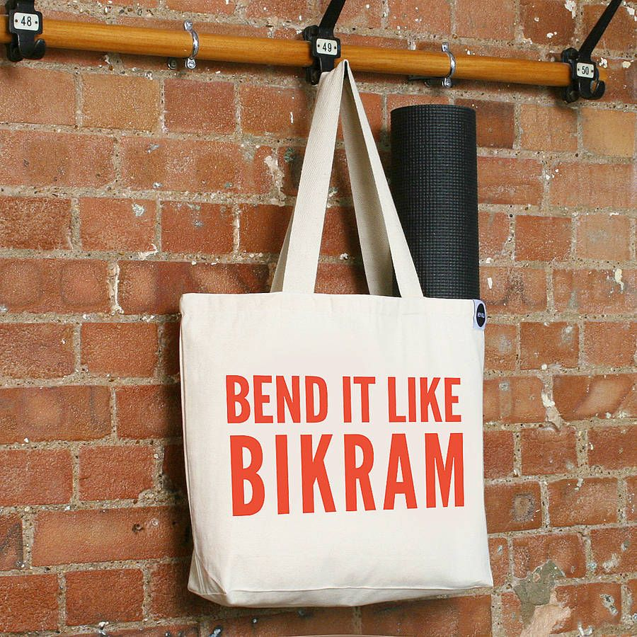 Bend It Like Bikram  Gym Bag  02bed343c4a39