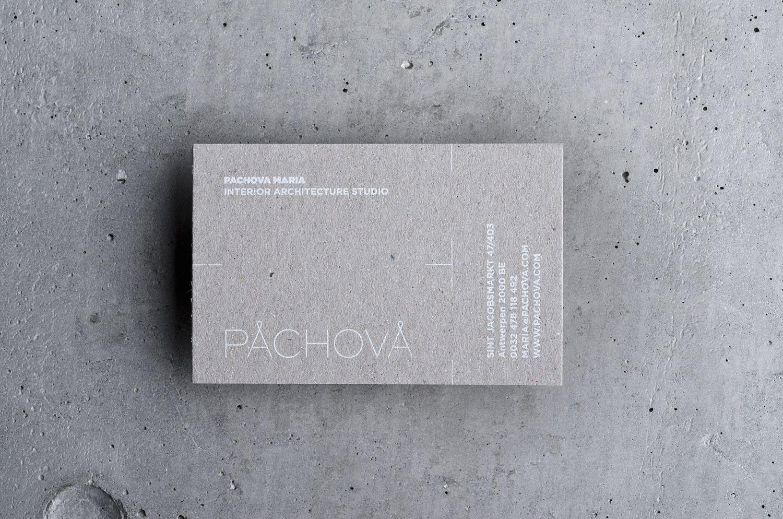 Pachova Interior Architecture Studio Logo