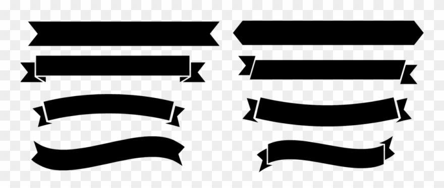 Download Hd Black Banner Png Free Download Banner Vector Png Free Download Clipart And Use The Free Clipart For Your Cr Black Banner Ribbon Png Banner Vector