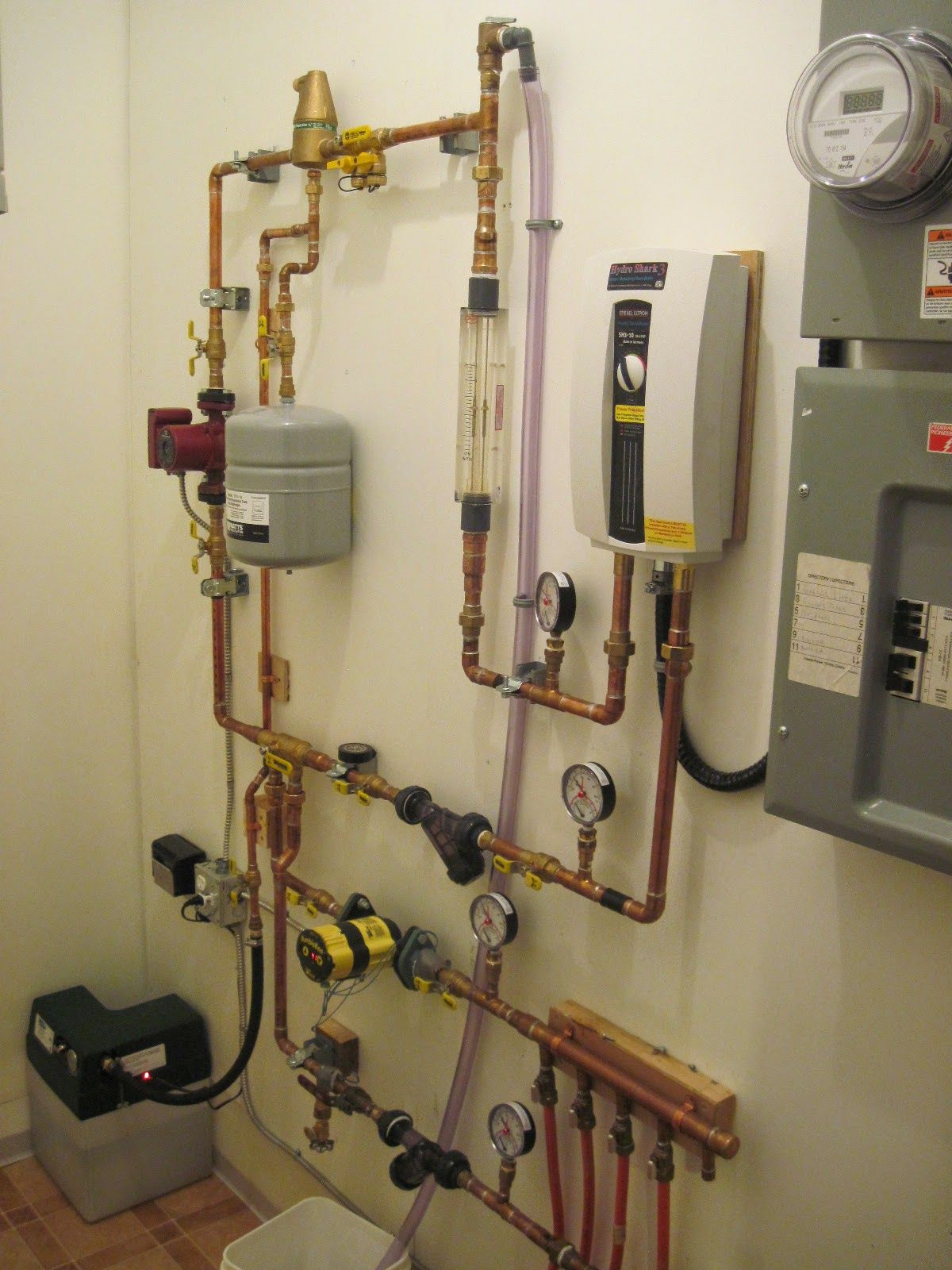 Heating system is operational on water Heating systems