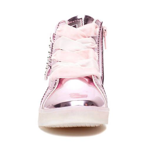 Scapino Blue Box sneakers met lichtjes roze | Products in