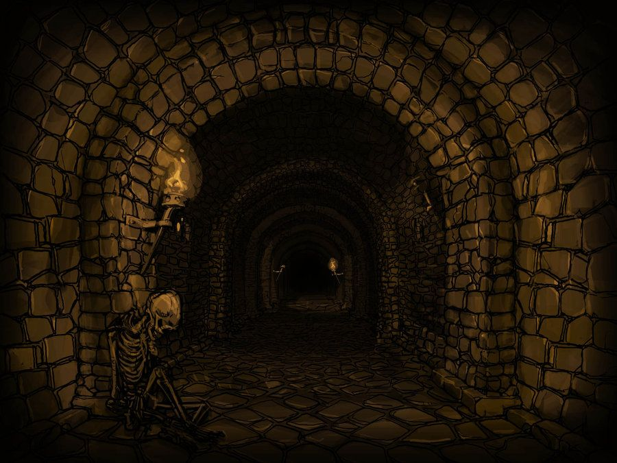 Dark Dungeon Corridor. by zelldweller on DeviantArt