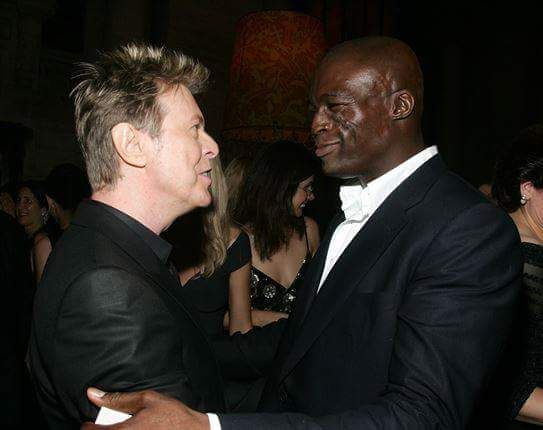 David Bowie with Seal