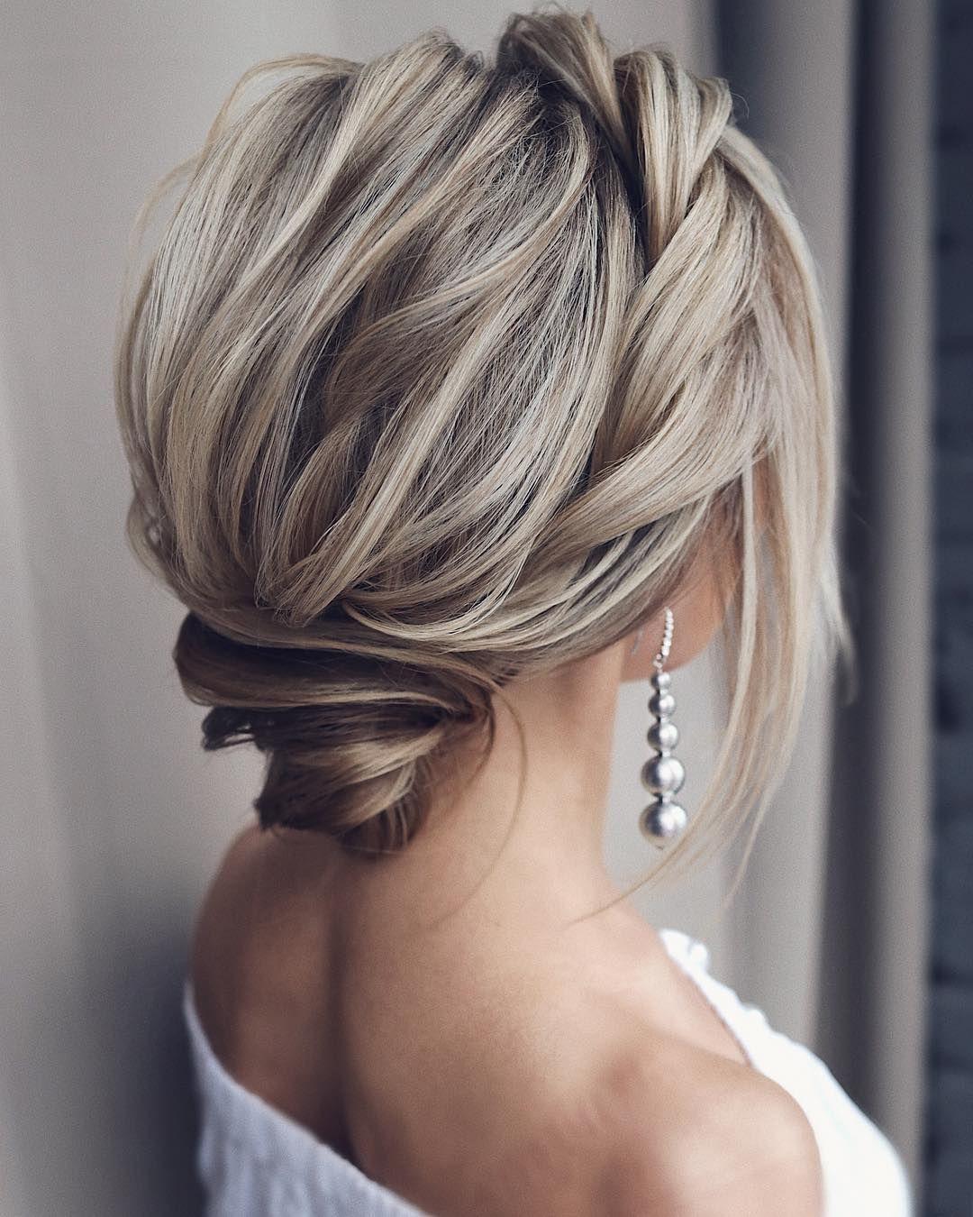 Tonyastylist Long Wedding Hairstyles And Wedding Updos Weddings Hairstyles Weddi Prom Hairstyles For Short Hair Medium Hair Styles Medium Length Hair Styles
