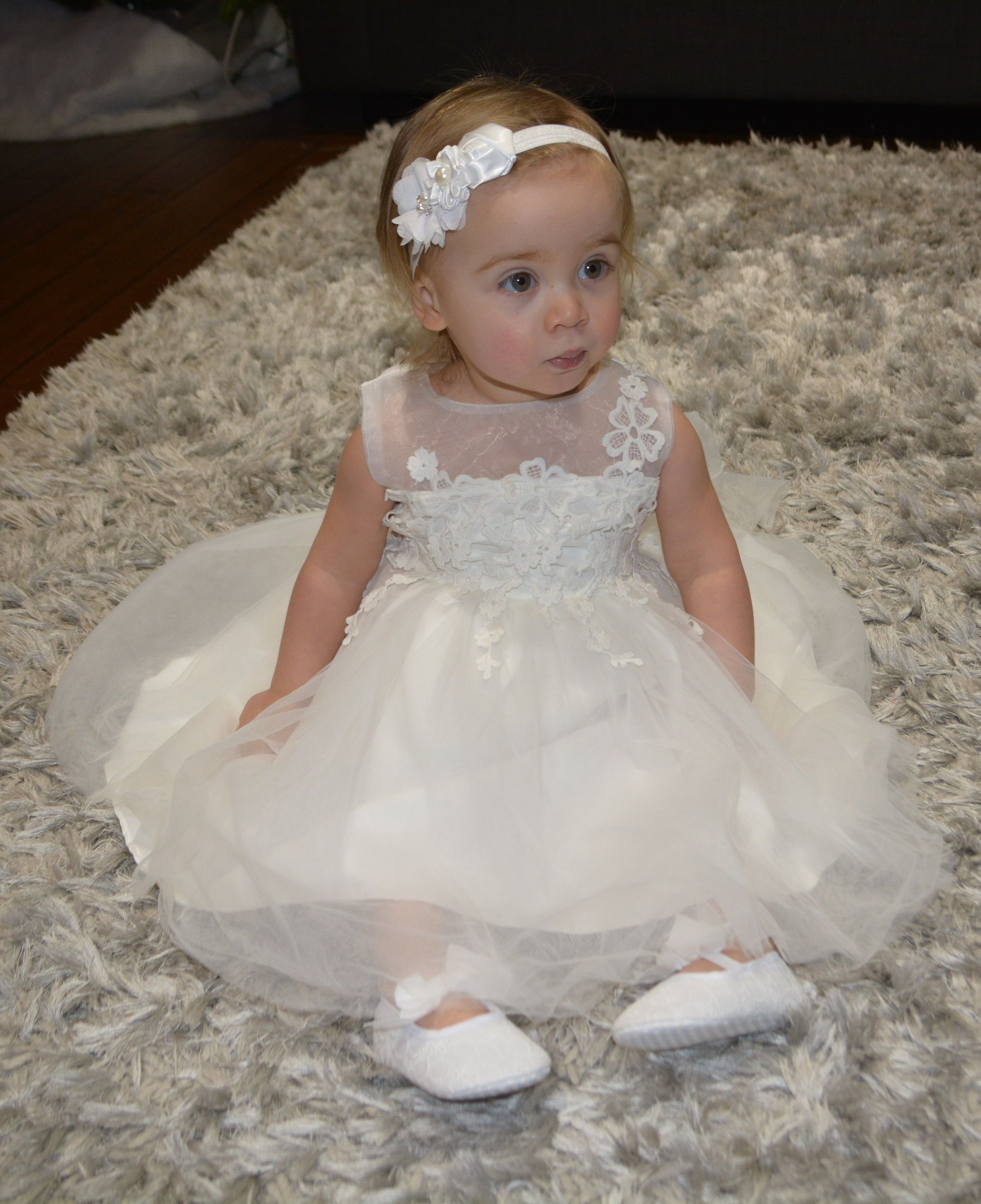 Baptism Dress Baptism Gown Baptism Outfit Christening gown