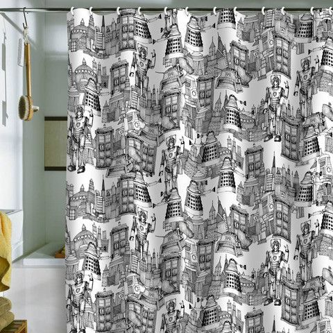 Doctor Who Shower Curtain Google Search