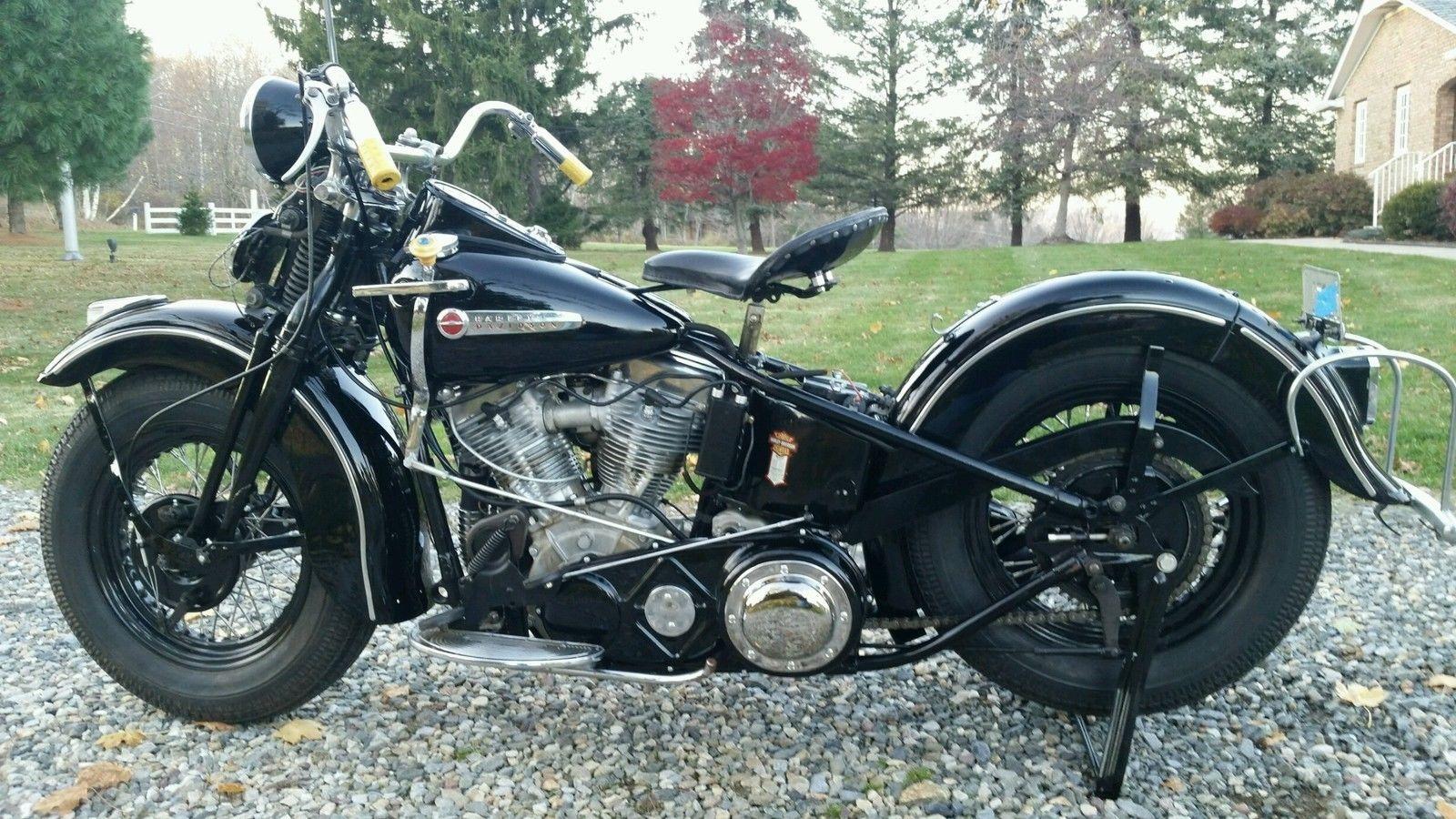 1948 Harley Davidson El Panhead Classic Harley Davidson Harley Davidson Panhead Harley Davidson Motorcycles