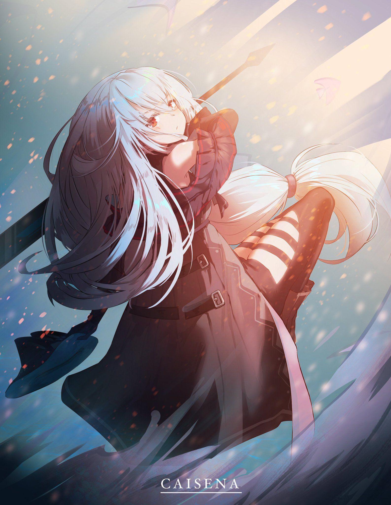 CAISENA on Twitter in 2020 Anime art, Anime, Anime art girl