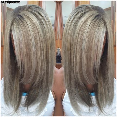 Aveda Hairstyle | Covering gray hair, Gray hair and Gray