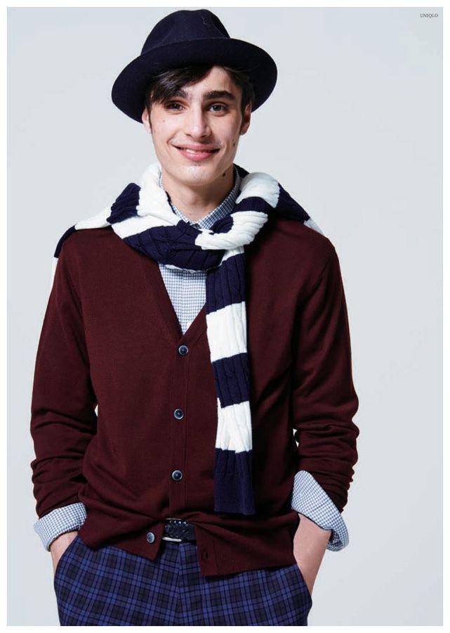UNIQLO  Fall Winter 2015 Otoño Invierno #Menswear #Trends #Tendencias #Moda Hombre