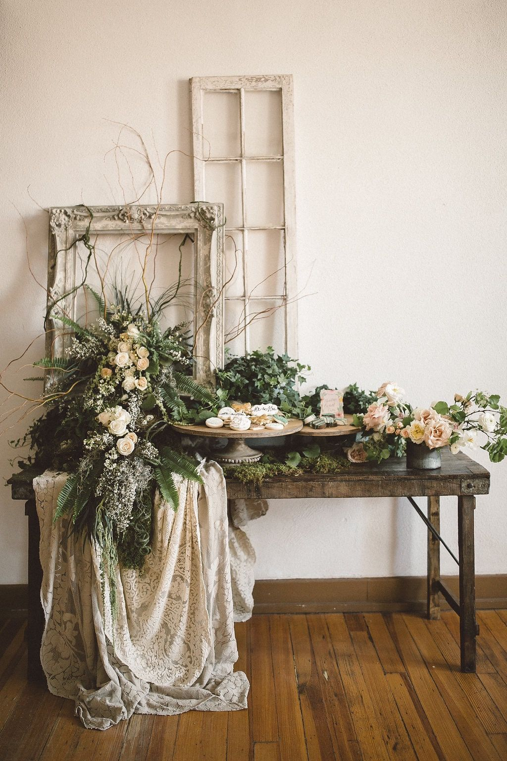 Get ready to swoon over this ethereal gardeninspired wedding shoot
