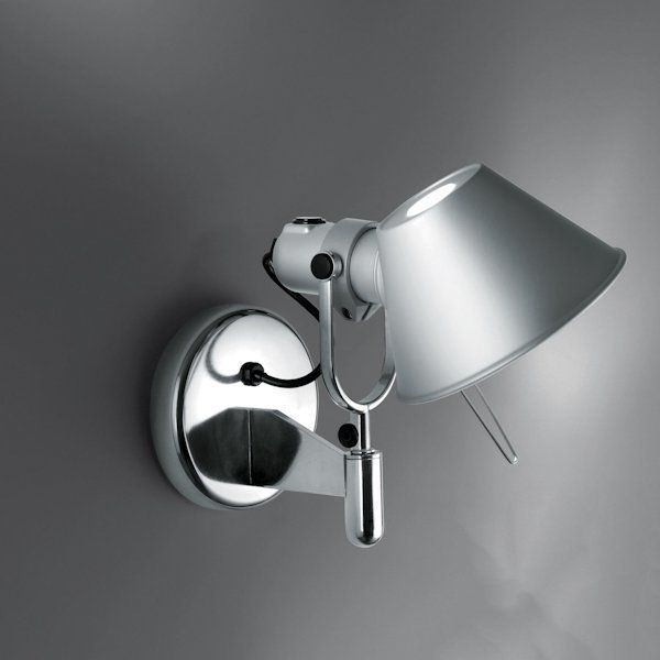 Artemide Tolomeo Faretto Wall Light Halogen Without