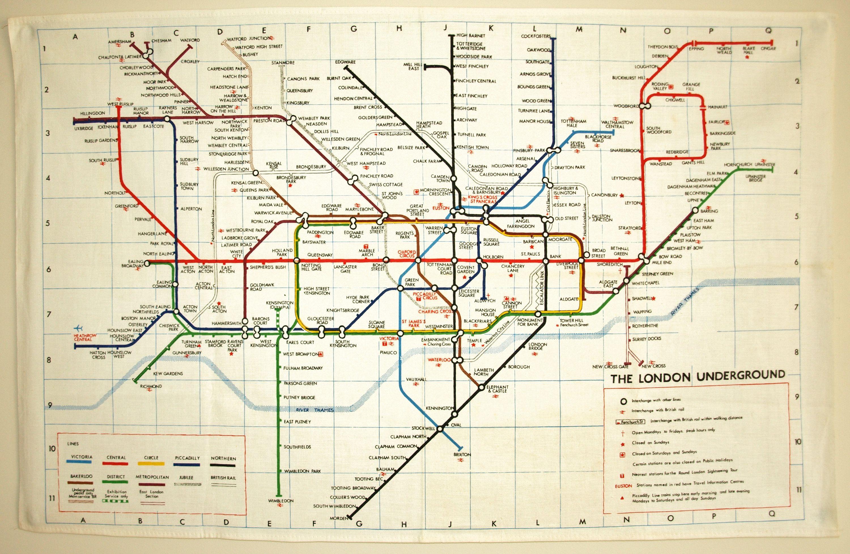 1945 Tube Map Tube45 Jpg 1 175 774 Pixels London Tube Map London Underground Map London Underground