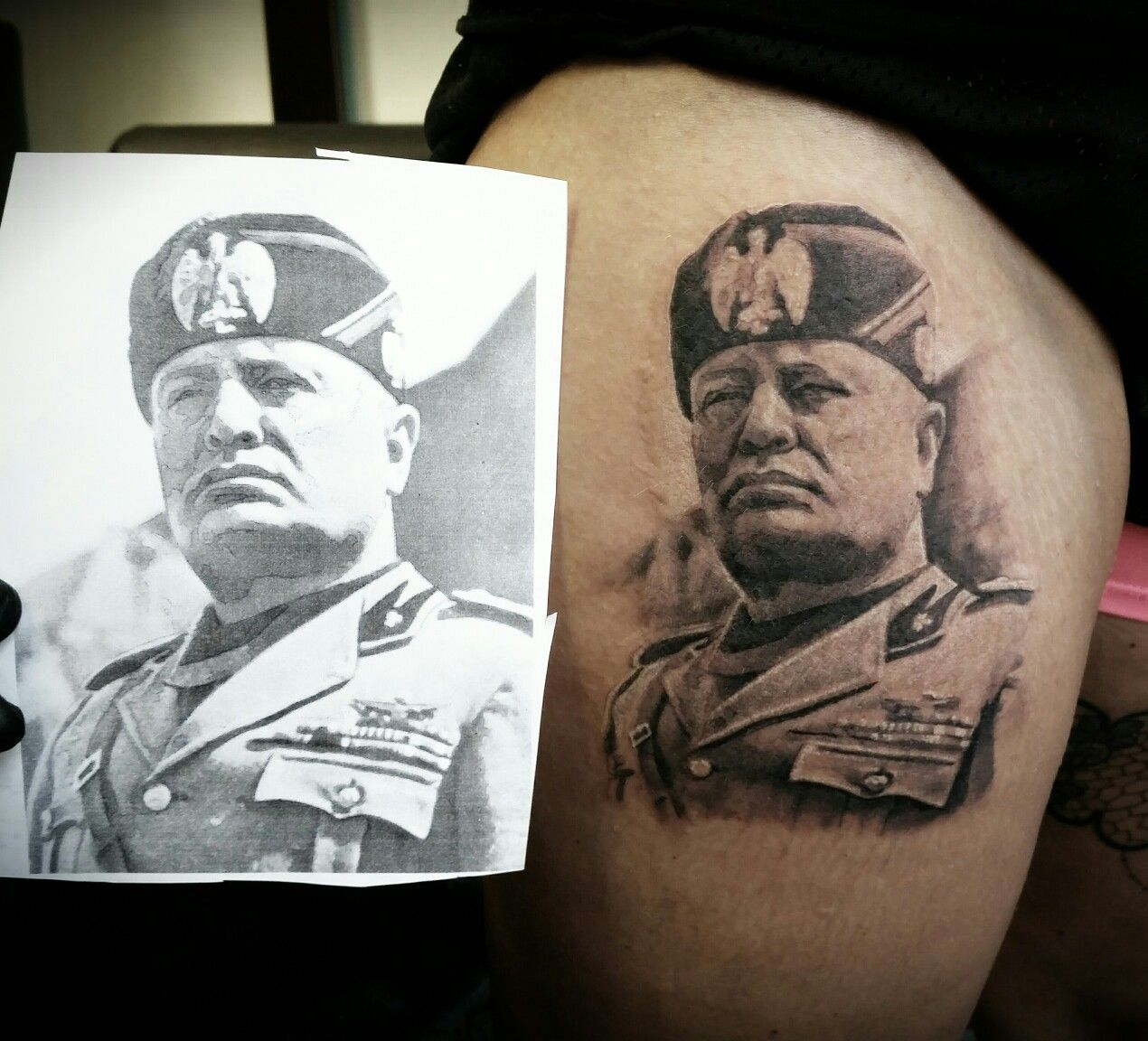 il duce mis tattoos pinterest