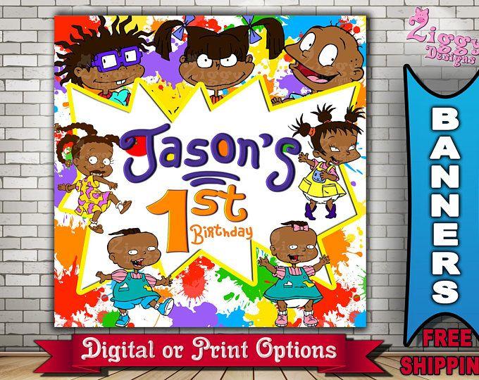 African american Rugrats Clip Art BundleRugratsParty