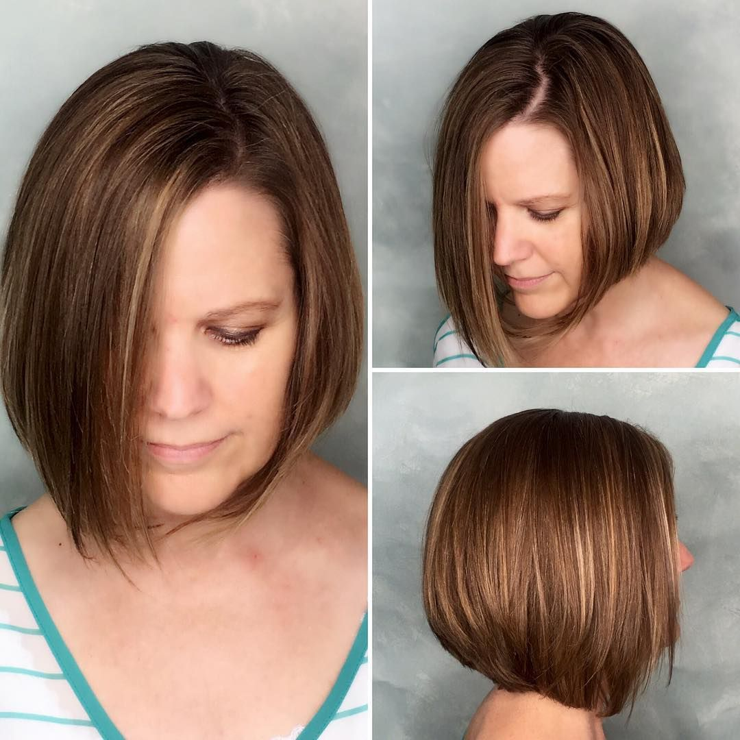 28 Easy To Style Short Hairstyles That Are Great Bob Hairstyles For Thick Bob Hairstyles For Round Face Hairstyles For Round Faces