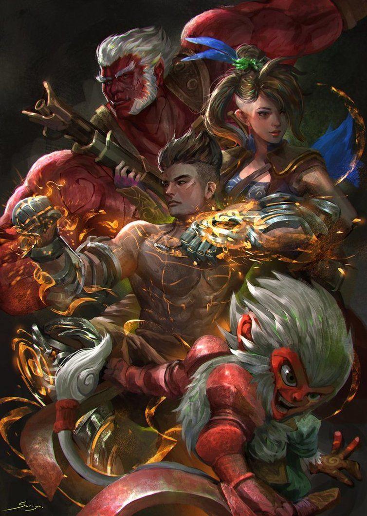 Legend of Muay Thai 9 Satra การวาดคาแรคเตอร์, ศิลปะไทย