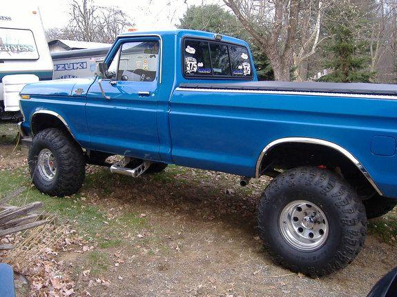 78 Blue Ford F150 Ford F150 Regular Cab Big Blue Marietta