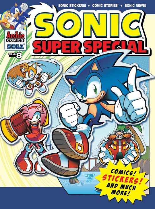 sonic super special 8 buy it now at the archie comics online store