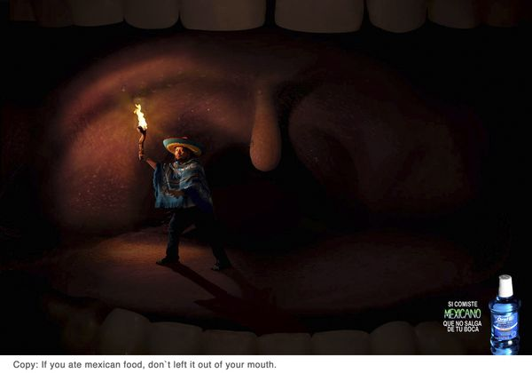 Oral B - Mouthwash by Luis Di Lascio, via Behance