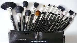 arrives nice cheap order Fotos de Manta de brochas maquillaje profesional MAC Set 24 ...