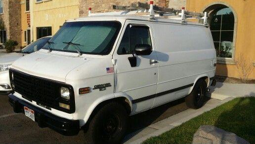 1995 Shorty Chevy Van Painting Van Chevy Van Gmc Vans Van