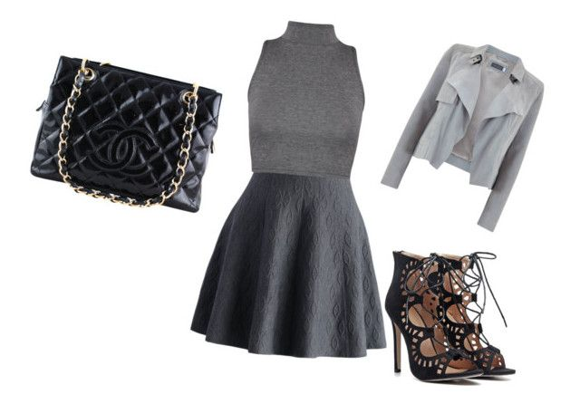 """""""Untitled #7"""" by waleskaferreira on Polyvore featuring Chicwish, WearAll, Mint Velvet and Chanel"""
