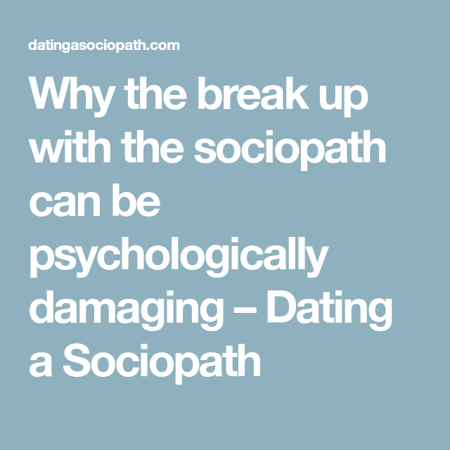 Datingasociopath