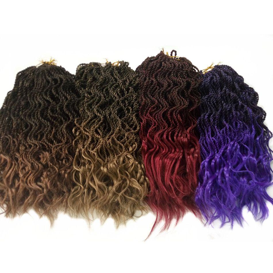 Wavy senegalese twist crochet braids hair havana mambo twist