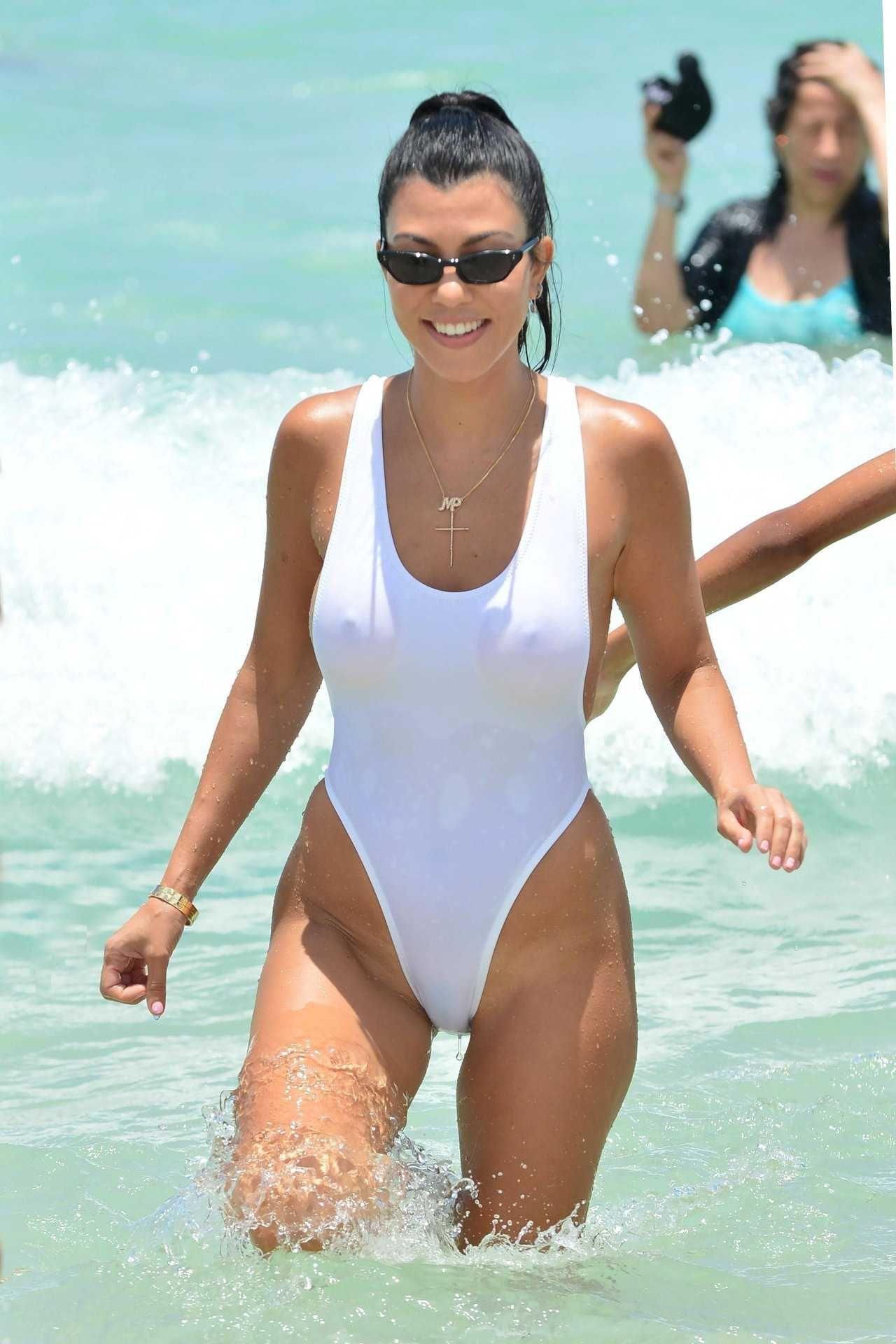 a5c1e0af897 Kourtney Kardashian White Swimsuit Candids in Miami Posted on Jun. 12th,  2017