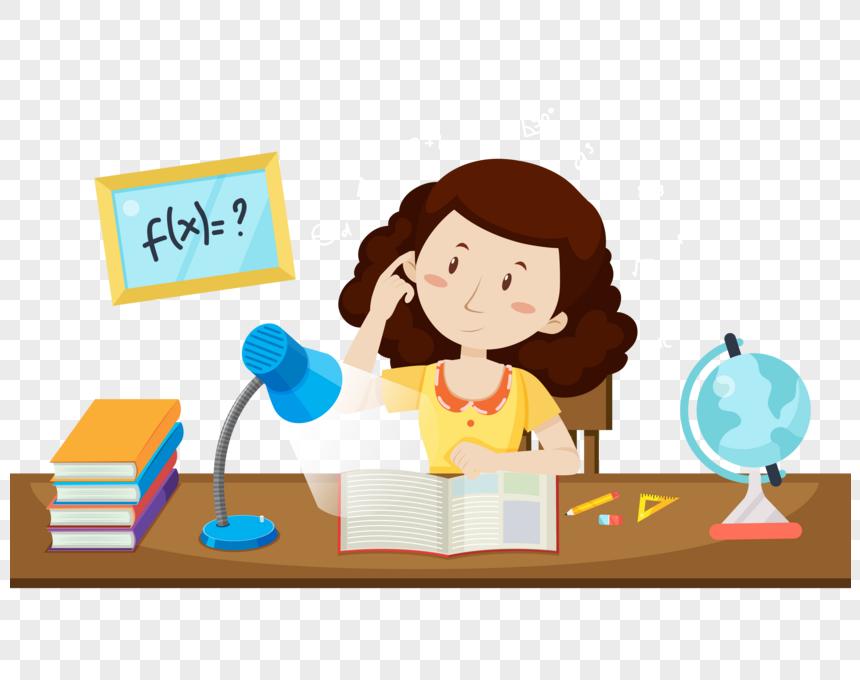 فتاة تعلم Learning Fictional Characters Character