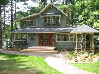 Historic Grey Gables On Clark Lake Nisswa Minnesota Small Cottage House Plans Cottage House Plans Cottage Homes