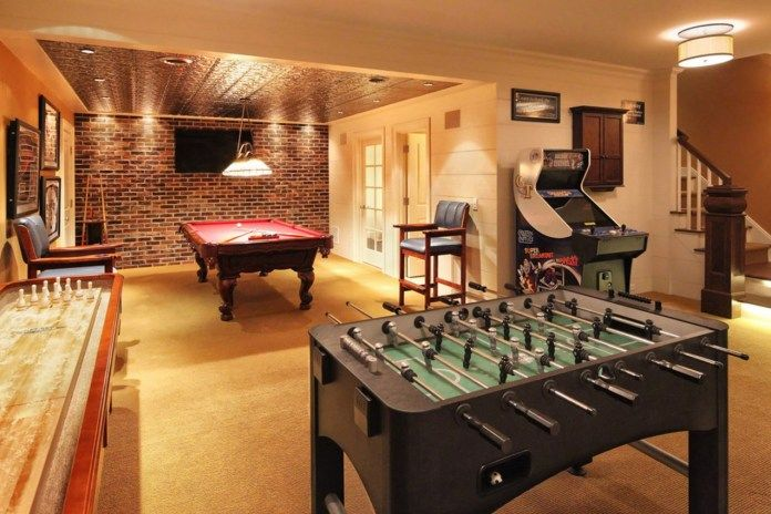 Foosball Pool Shuffleboard Bowling Tables Are Game Room
