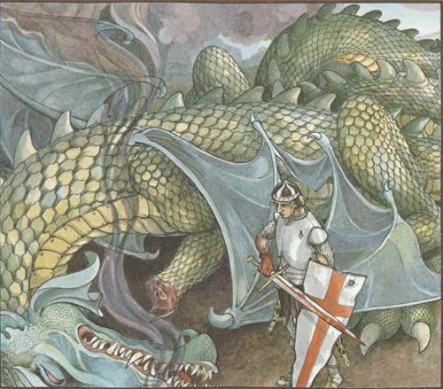 Trina Schart Hyman's St George and the Dragon