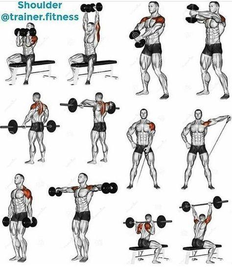 Super Forma Espartana: Exercícios para ombros.   Exercício   Pinterest  SC25