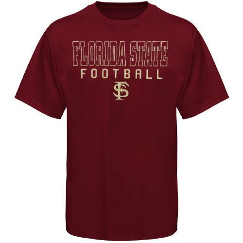 Florida State Seminoles (FSU) Frame Football T-Shirt - Garnet - NCAA #NewAgenda #FloridaStateSeminoles