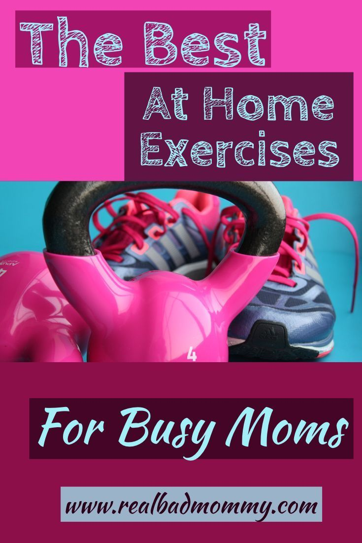 Struggle as a busy mom to find time to exercise? Want to find quick and easy ways to stay fit? Try t...
