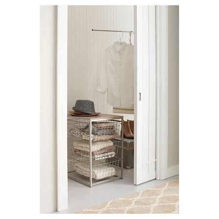 Captivating 3 Drawer Closet Organizer   Grey Birch   Threshold : Target