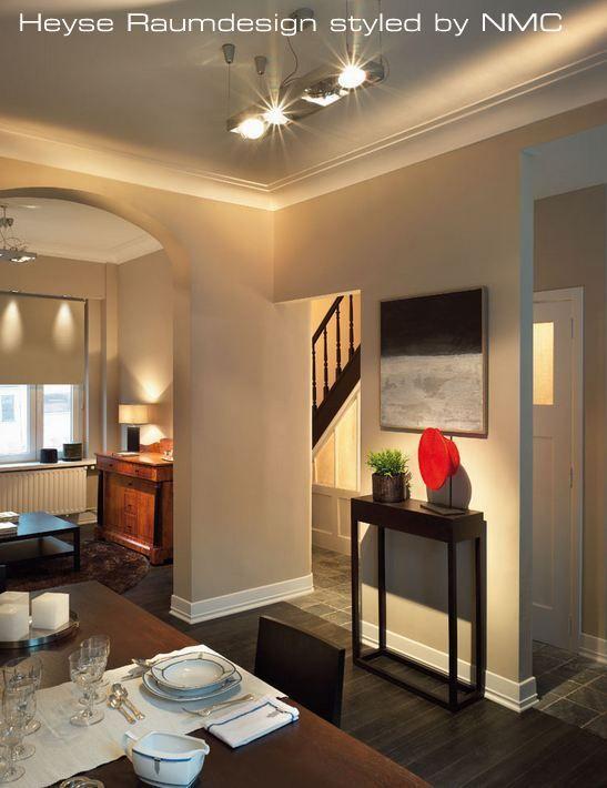 NMC Deko - House de Poitre Raumdesign mit NMC - Decorprofilen - raumdesign wohnzimmer modern