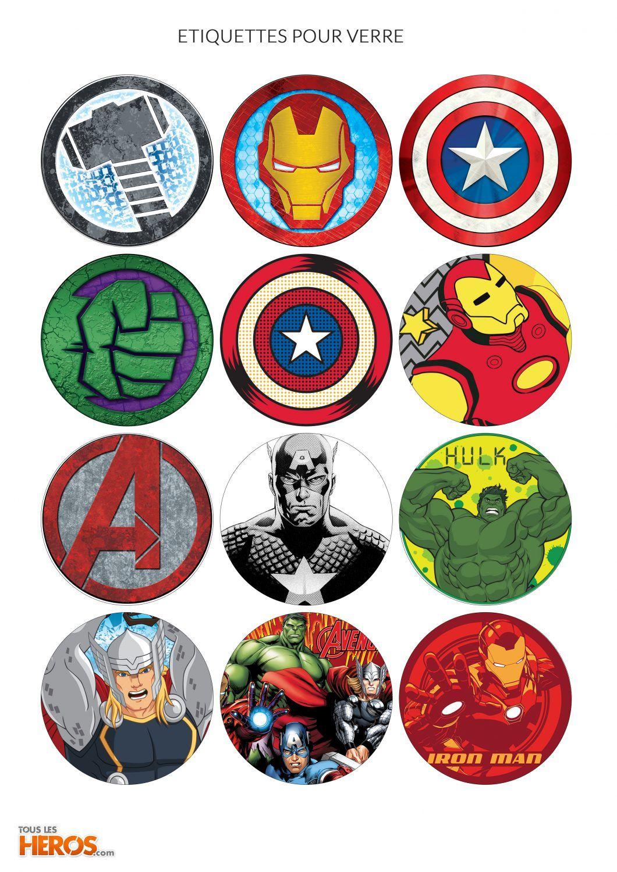 anniversaire super heros invitation