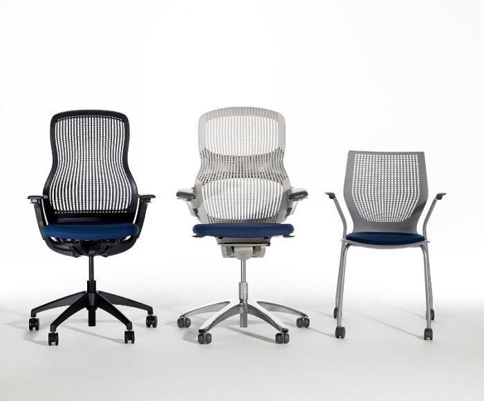 Knoll Regeneration Knoll Generation Knoll Multigeneration Chairs