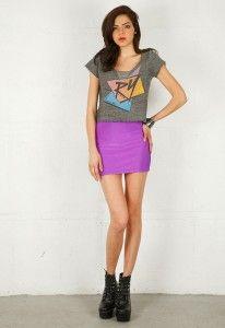 80s Fashion: Short Mini Skirts | 1980's/Early 90's Dresses ...