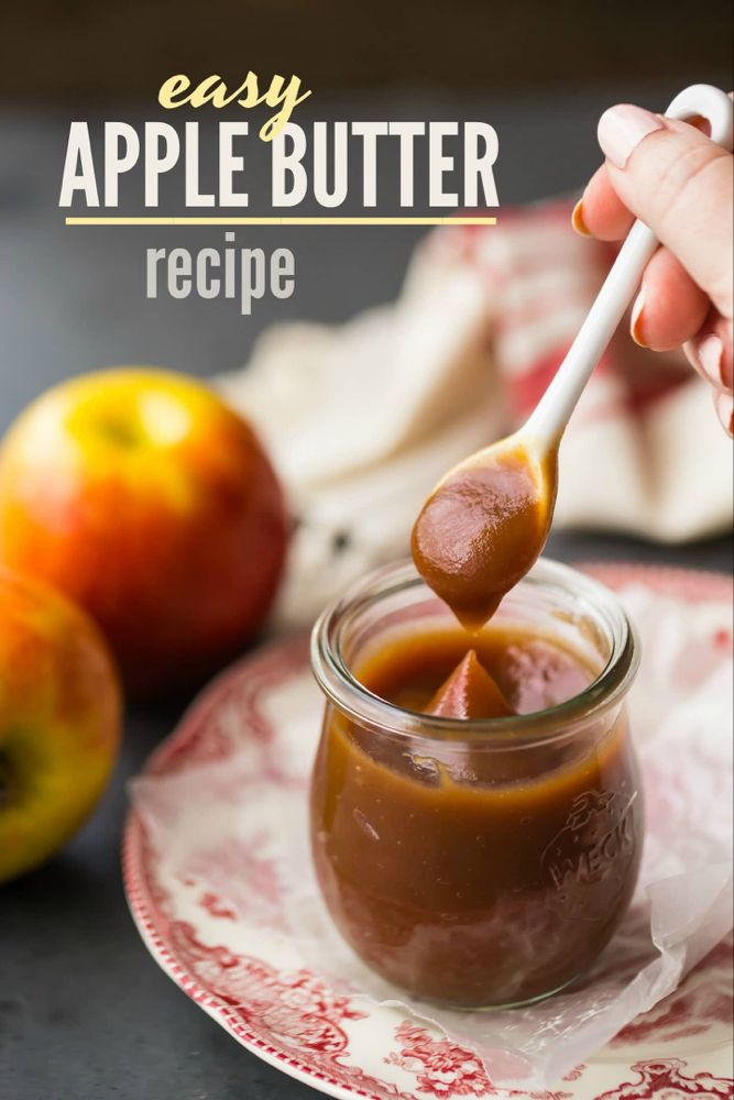 Pin by Brittany Harris on Recipes Apple butter recipe