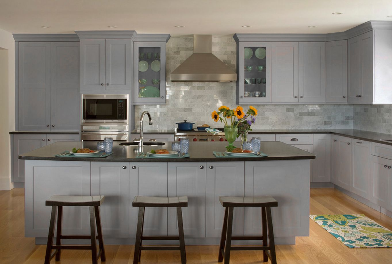 Grey%20Shaker%20Kitchen   White shaker kitchen ...