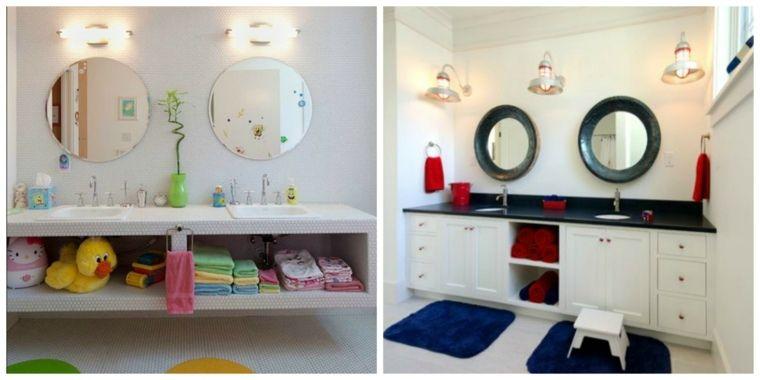 Salle de bain enfant en 52 idées marrantes
