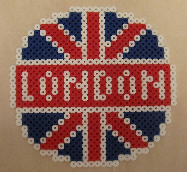 London Perler Bead Disney Hama Beads Design Perler Beads Designs