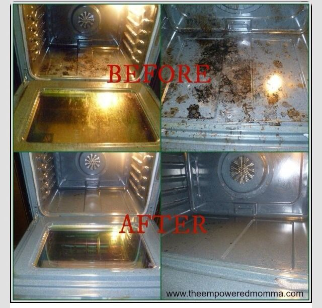 Diy Natural Oven Cleaner Homemade Oven Cleaner Natural Oven